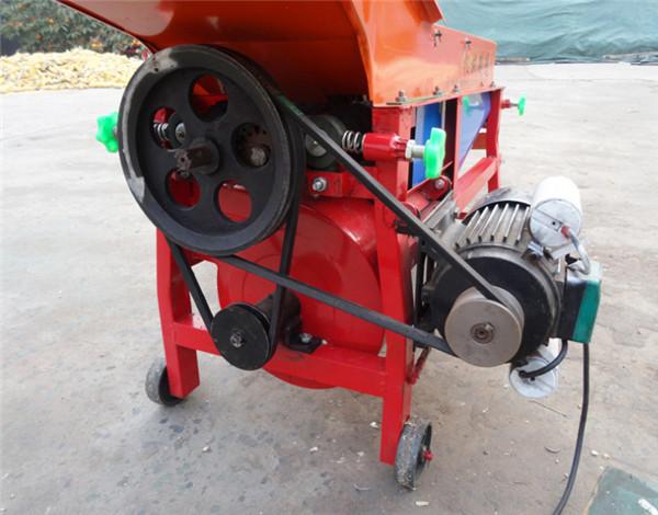 blowing type corn husker machine