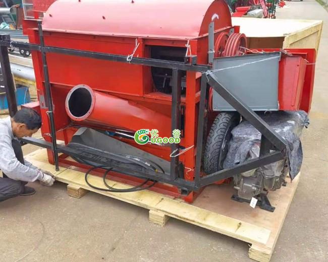 Large Portable Chia Threshing Machines Delivery to Dar es Salaam Port