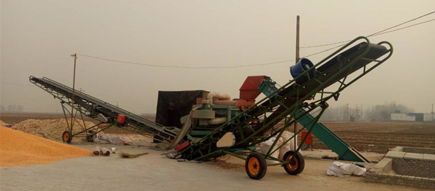 Large Capacity Maize Thresher